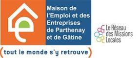Logo Maison Emploi Entreprises - Parthenay Gâtine